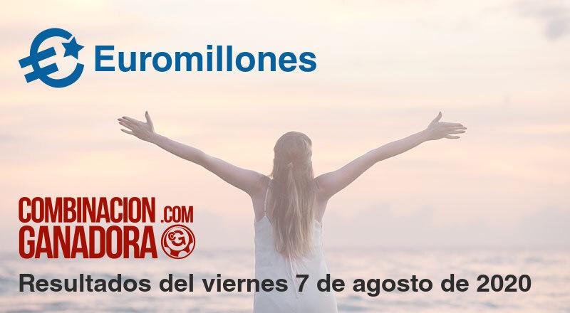 Euromillones del viernes 7 de agosto de 2020
