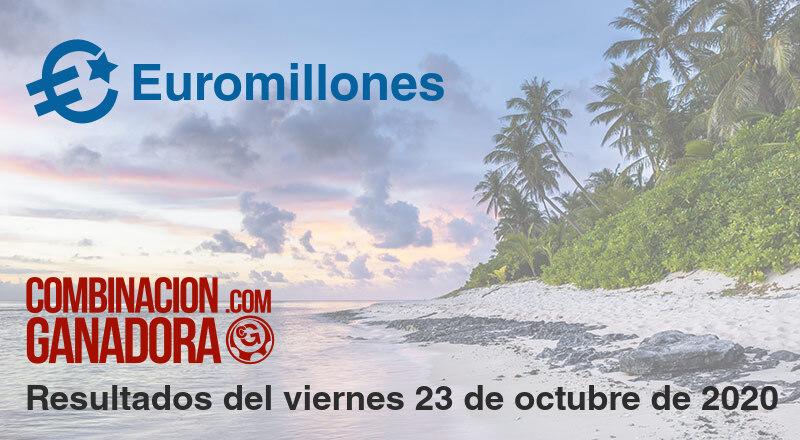 Euromillones del viernes 23 de octubre de 2020
