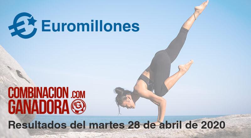 Euromillones del martes 28 de abril de 2020