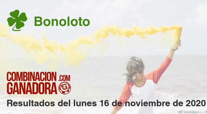 Bonoloto del lunes 16 de noviembre de 2020