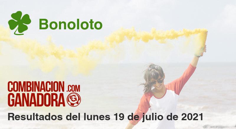 Bonoloto del lunes 19 de julio de 2021