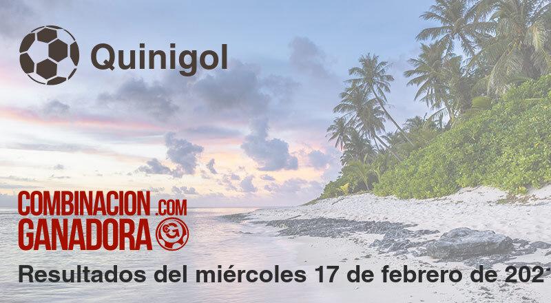Quinigol del miércoles 17 de febrero de 2021