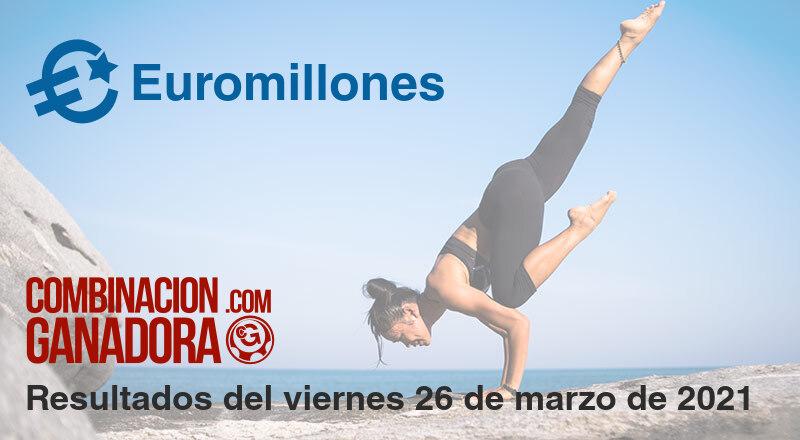 Euromillones del viernes 26 de marzo de 2021