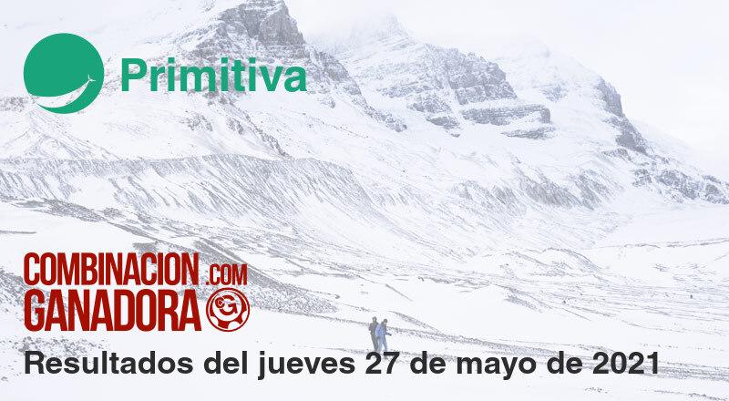 Primitiva del jueves 27 de mayo de 2021