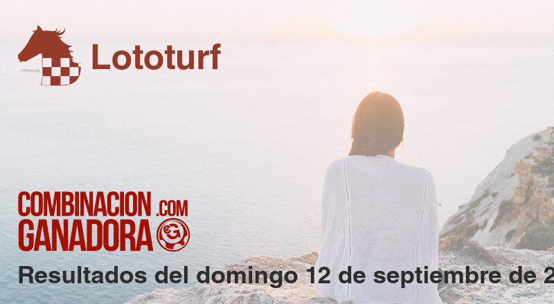 Lototurf del domingo 12 de septiembre de 2021