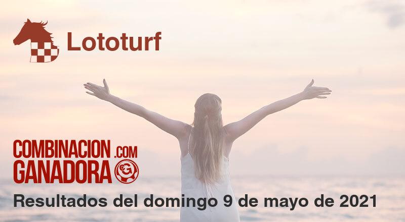 Lototurf del domingo 9 de mayo de 2021