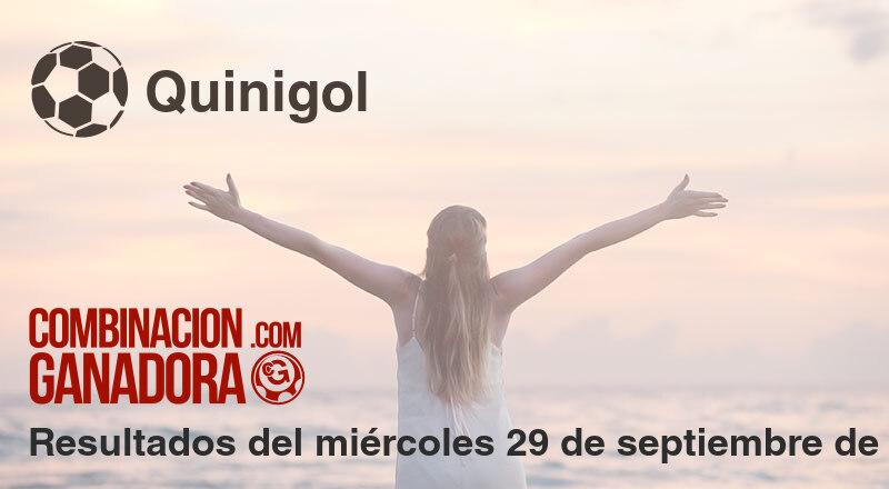Quinigol del miércoles 29 de septiembre de 2021