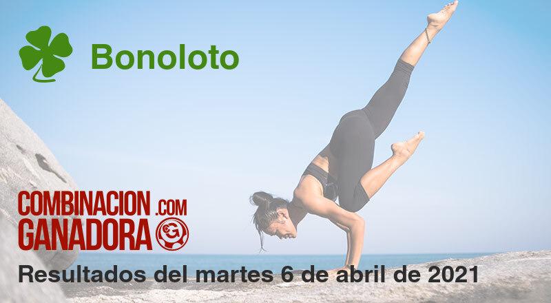 Bonoloto del martes 6 de abril de 2021