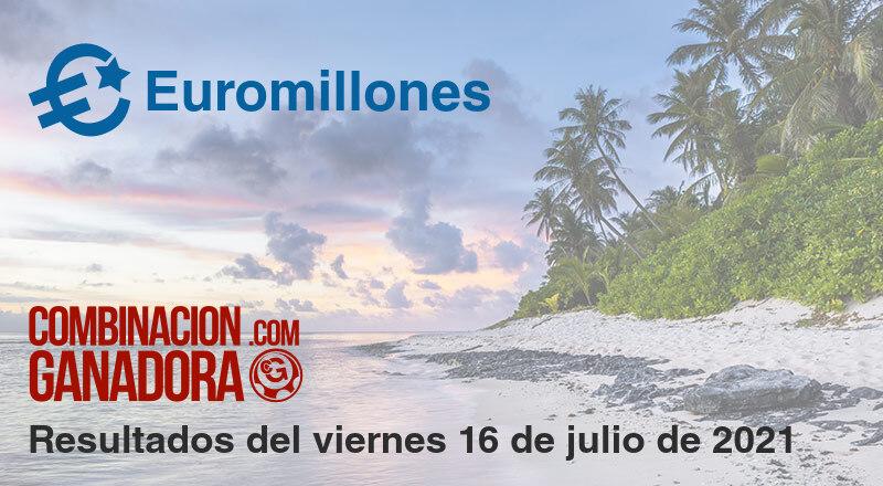 Euromillones del viernes 16 de julio de 2021