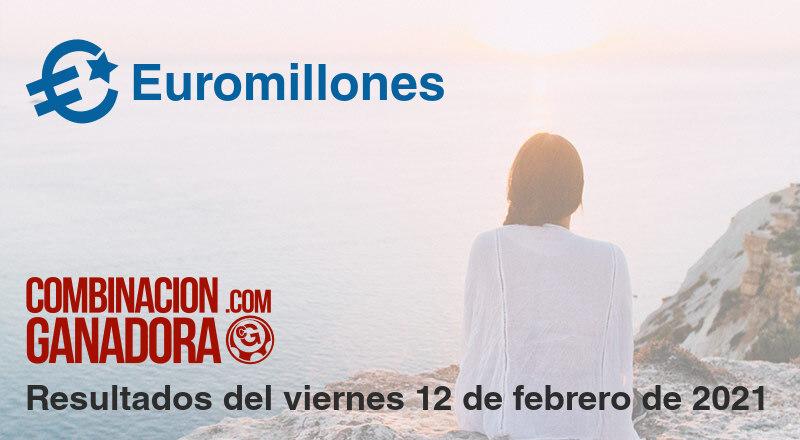 Euromillones del viernes 12 de febrero de 2021