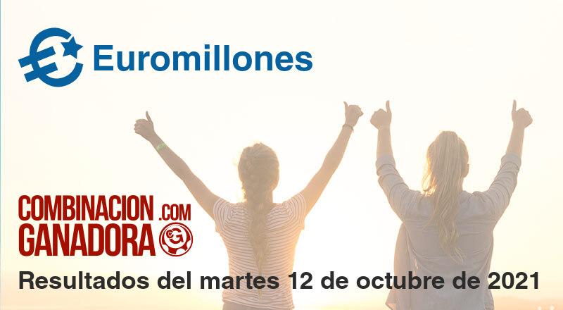 Euromillones del martes 12 de octubre de 2021