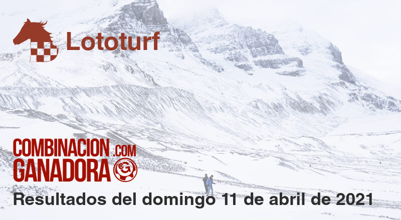 Lototurf del domingo 11 de abril de 2021