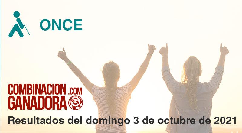 ONCE del domingo 3 de octubre de 2021