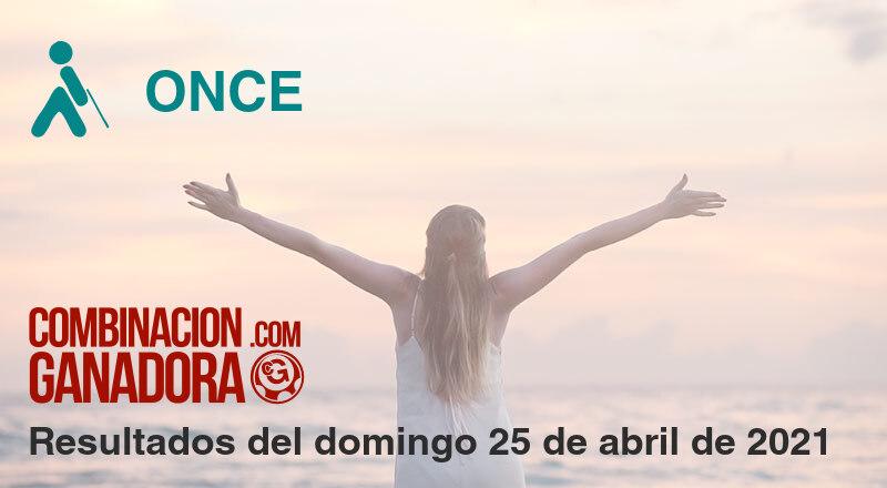 ONCE del domingo 25 de abril de 2021