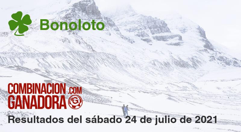 Bonoloto del sábado 24 de julio de 2021