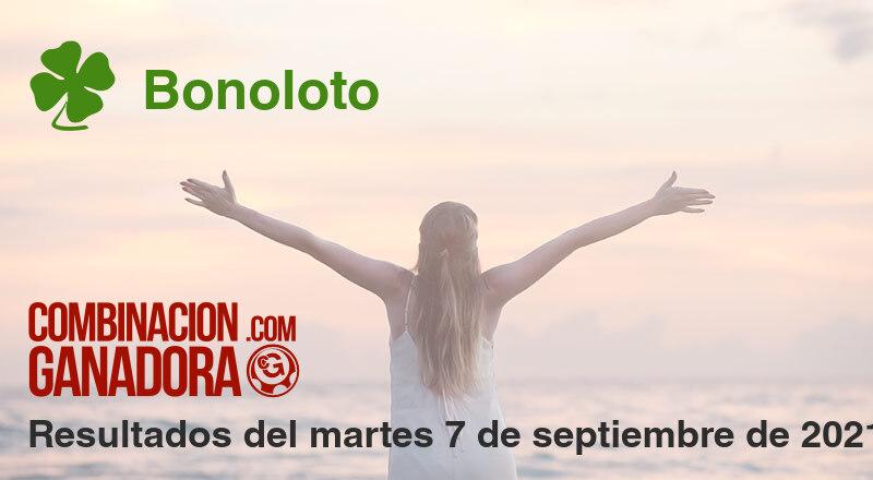 Bonoloto del martes 7 de septiembre de 2021