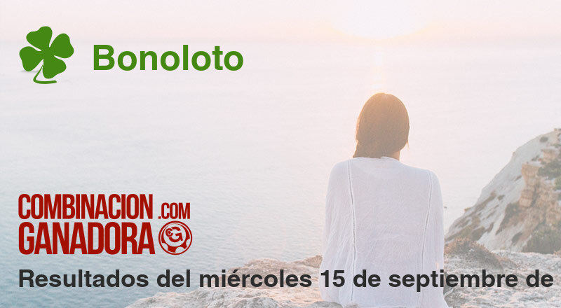 Bonoloto del miércoles 15 de septiembre de 2021