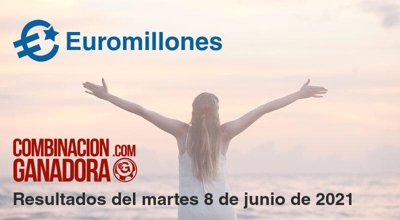 Euromillones del martes 8 de junio de 2021