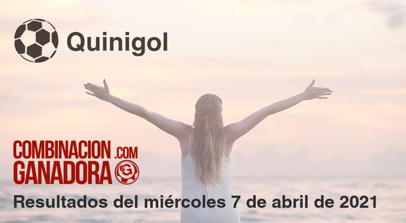 Quinigol del miércoles 7 de abril de 2021