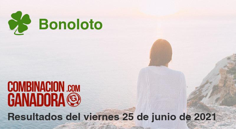 Bonoloto del viernes 25 de junio de 2021