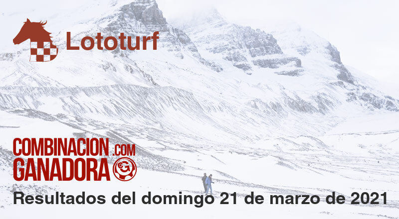 Lototurf del domingo 21 de marzo de 2021