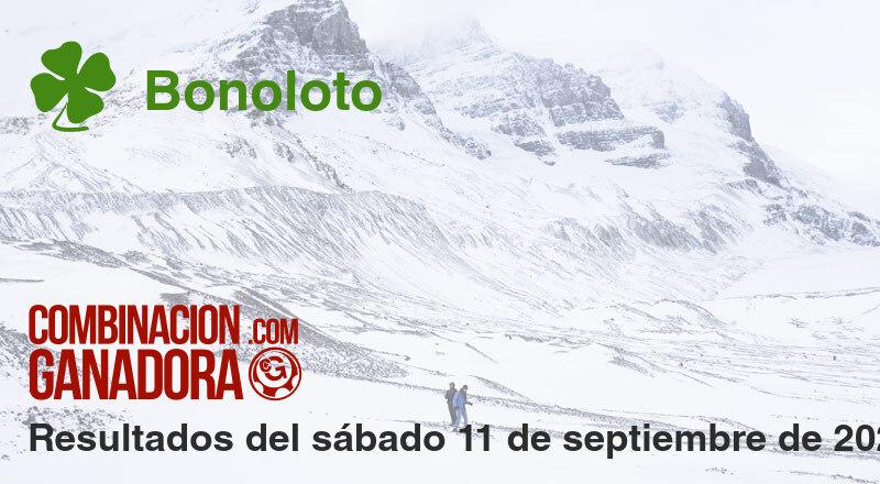 Bonoloto del sábado 11 de septiembre de 2021