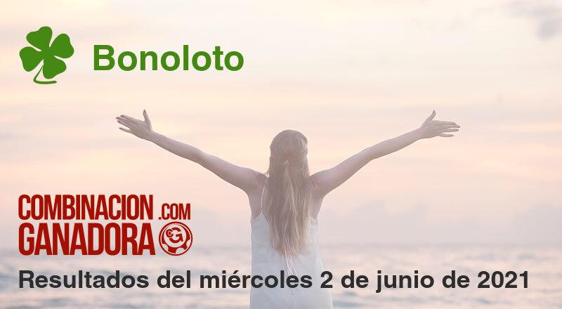 Bonoloto del miércoles 2 de junio de 2021