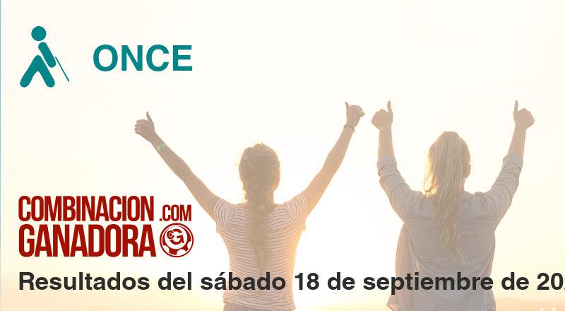 ONCE del sábado 18 de septiembre de 2021