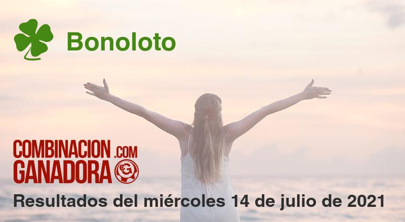 Bonoloto del miércoles 14 de julio de 2021