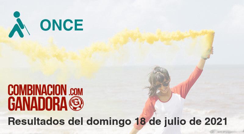 ONCE del domingo 18 de julio de 2021