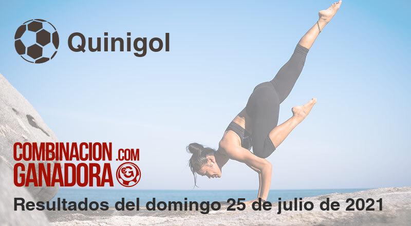 Quinigol del domingo 25 de julio de 2021