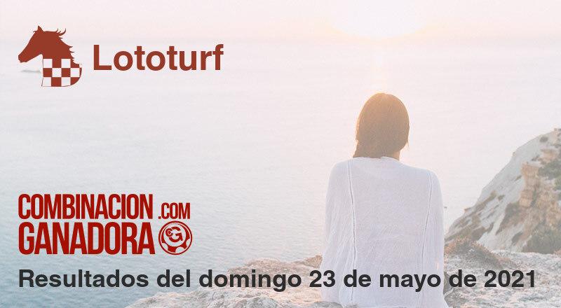 Lototurf del domingo 23 de mayo de 2021