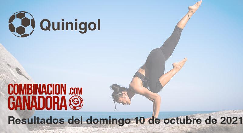 Quinigol del domingo 10 de octubre de 2021
