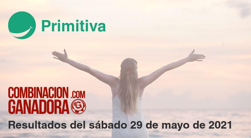 Primitiva del sábado 29 de mayo de 2021