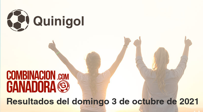 Quinigol del domingo 3 de octubre de 2021