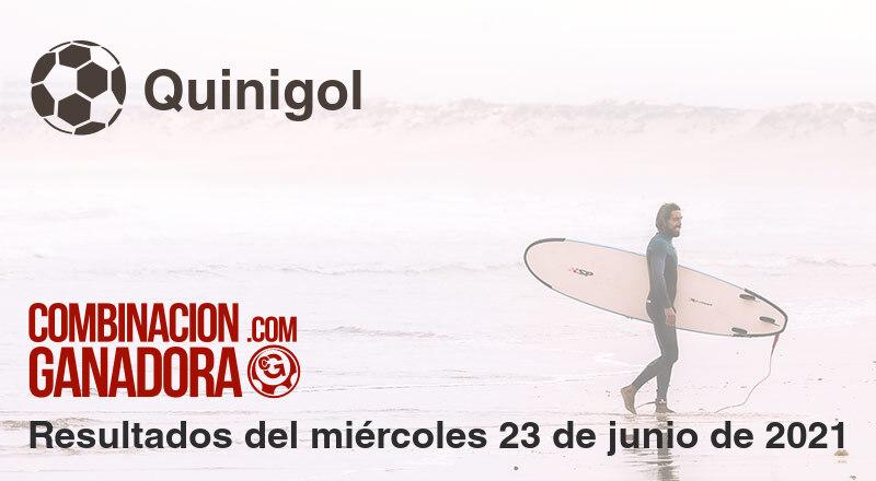 Quinigol del miércoles 23 de junio de 2021