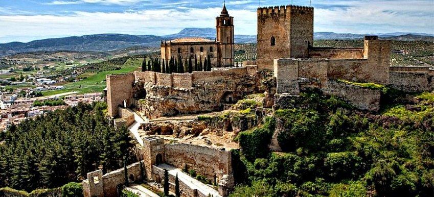 La Fortaleza de la Mota en Alcalá la Real