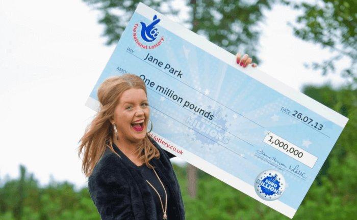 La ganadora más joven de euromillones de Gran Bretaña