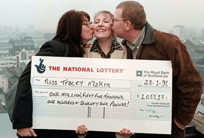 La ganadora más joven de Lotería