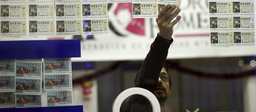 Décimos de la Lotería de Navidad. Foto: Publico.es