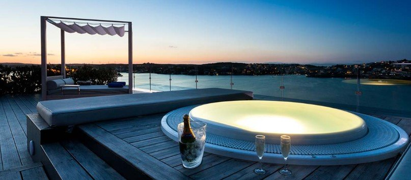 El Blue Sky Bar, en Menorca.