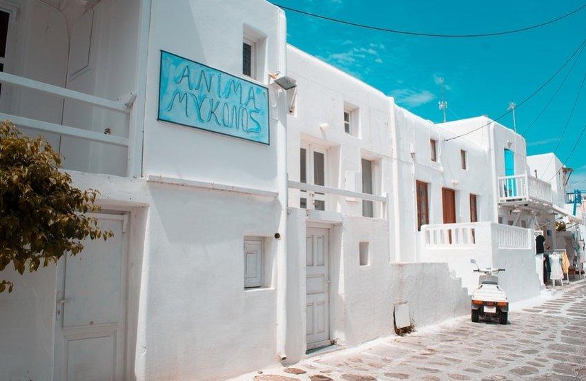 Descubrir la isla griega de Mykonos