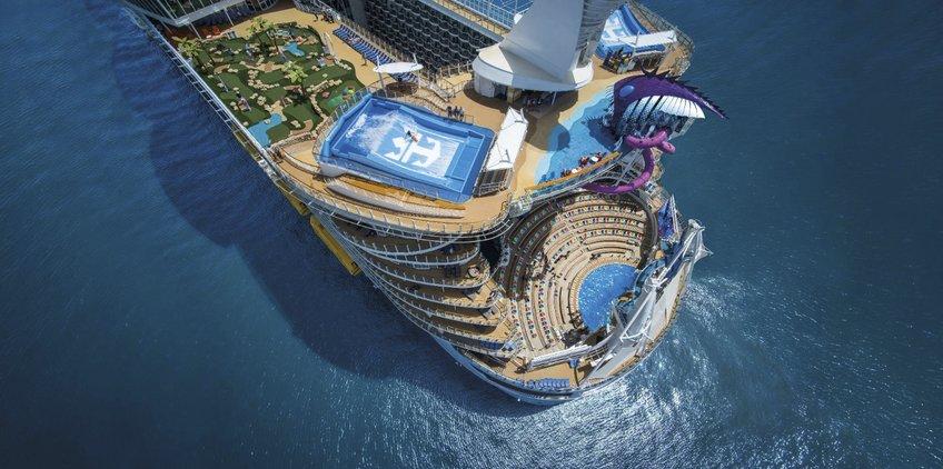 El crucero más grande del mundo es un viaje para soñar a lo grande