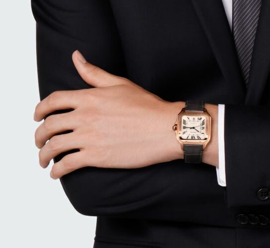Reloj Cartier de lujo
