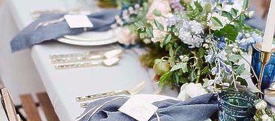 Bodas Románticas: Azul romántico para enamorar