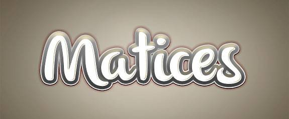 ¡Bienvenid@s a Matices!