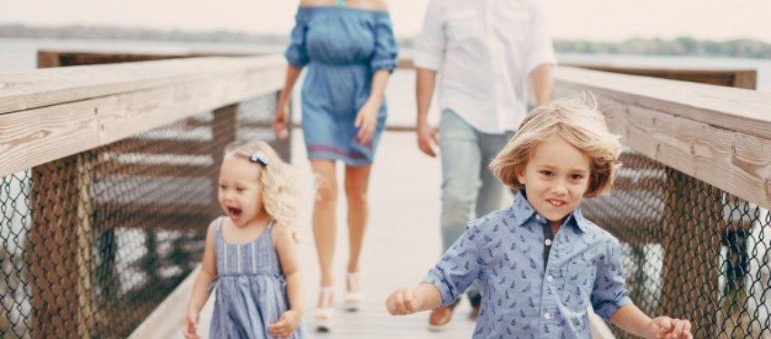 Dónde ir de vacaciones con los hijos según su edad