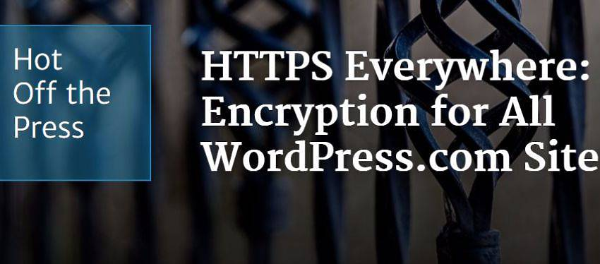 Wordpress.com activa HTTPS para todos sus sites