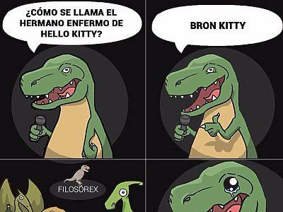 ¿Cómo se llama el hermano enfero de Hello Kitty?
