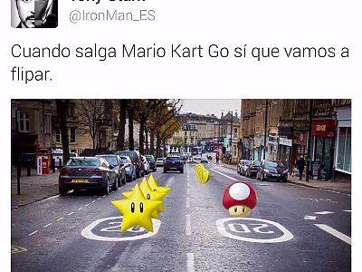 Ay cuando salga Mario Kart Go...